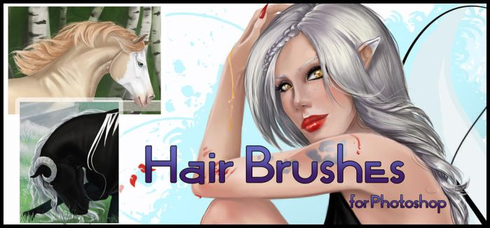 Hair brushes set by AonikaArt