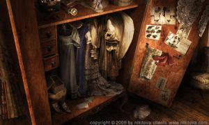 Sweeney Todd Armoire by Katie-Watersell