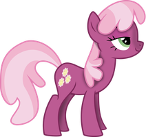 Cheerilee With Shadow Vector by Kamyk962