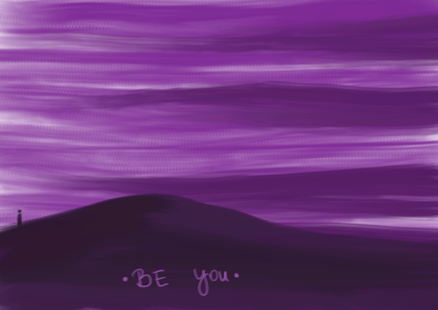 [two words] be you by GhitaBArt