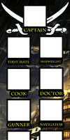 Pirate Crew Meme - Template by Moheart7