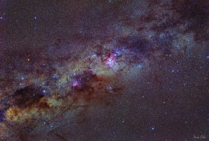 The Southern Milky Way by turbulentvortex