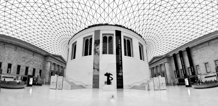 BRITISH MUSEUM EMPTY by geolio