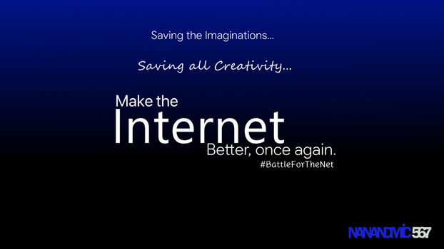 Make the Internet Better, Once again. by nanandmic567