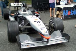 MP4-16 Formula One Race Car by SeanTheCarSpotter