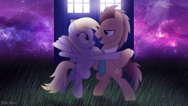 Through Time and Space by Bubbly-Storm