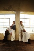 Hetalia:Italy and Romano 2 by azuooooo