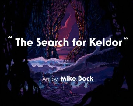 Search for Keldor title screen by MikeBock