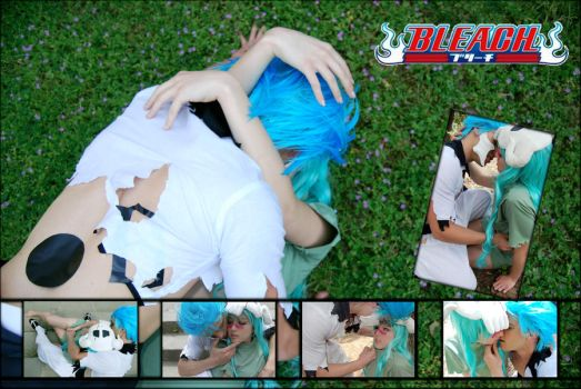Grimmjow x Nel collage by YuriKoVIII