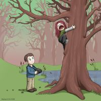 Spider Hunt by Stephany-Q-Vin