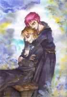 Lupin and Tonks by Na-kun