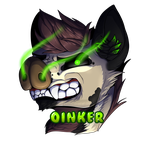 Oinker badge gift by Wolfsaz