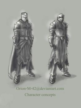 character concepts by Orion-M-42