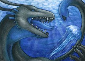 ACEO for Dragonchameleon by Dragarta