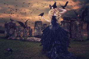 Dance with the Corbie Queen by mum666