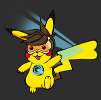 Pika Tracer by CursedNight