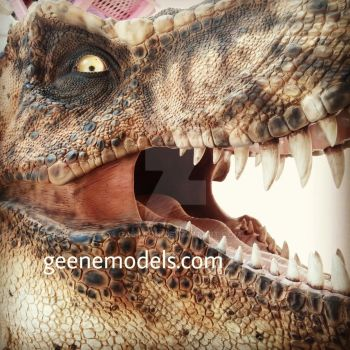 T Rex 1/4 scale bust by GalileoN