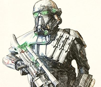 Death trooper squad leader by icejeansflower