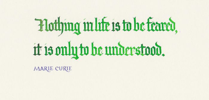 Marie Curie - Nothing In Life by MShades