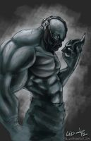 Bane - The Bat Breaker WIP by jpzilla