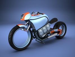 motorcycle by dareg