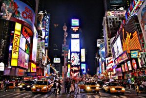 New York Time Square by HairJay