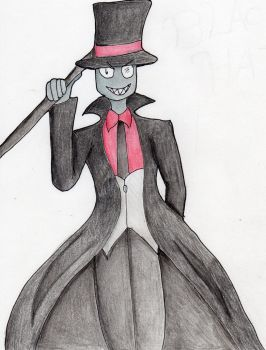 Villainous: Black Hat by kakashisgirlfighter