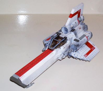colonial viper Lego by DarthTerry