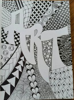 Art Zentangle by CrazieCathie