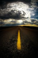 Yellow Line by kylewright