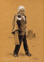 Jon Pertwee as the 3rd Doctor by Timedancer