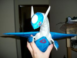 Latios Papercraft by Aosou-kun