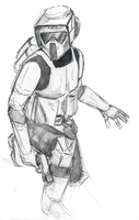 Scout Trooper by Averinn