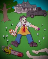 Serene Leatherface by maxevry
