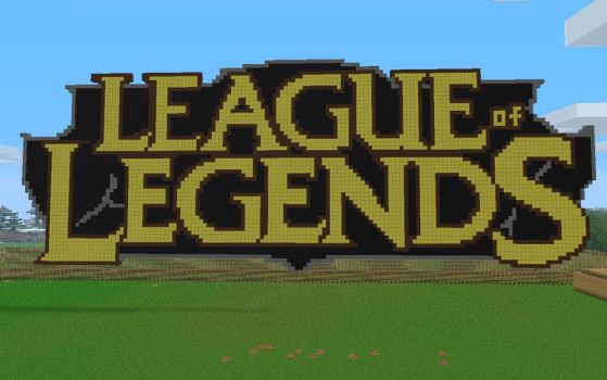 League of Legends logo - MC by Bl4zZy