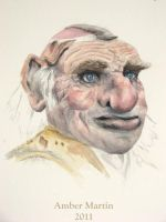 Hoggle portrait by abstractartistic