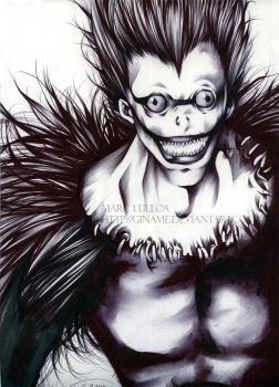Death Note: Ryuk by Giname