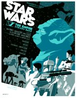 empire strikes back poster by strongstuff