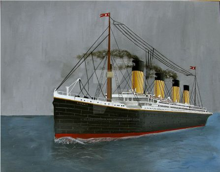 RMS Titanic:  The Ship of Dreams by Silver-Hourglass
