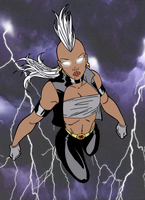 80's Storm by Blackmoonrose13