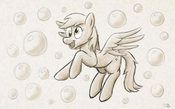 Bubble Party Pony by WerdKcub