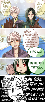 Fire Emblem Heroes - Whos the best tactician by Kaprikume