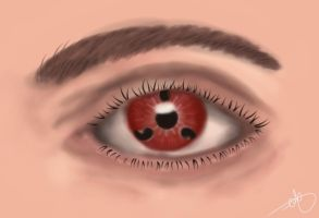 Naruto - Sharingan Eye by Frosty-Art