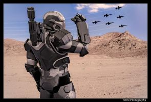The future of air combat... Manned, or unmaned? by WirmPhotography