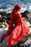 The Red woman (Melissandre - Game of Thrones) by Kalavel-Loki