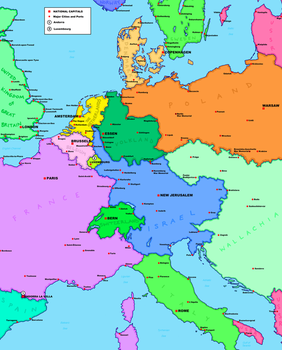 Palimpsest Europe Map by tard15