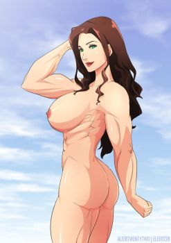 Asami Nude by elee0228