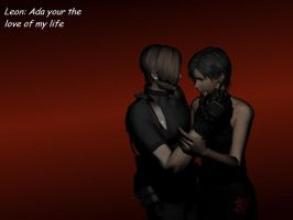 Leon and Ada by Link1245