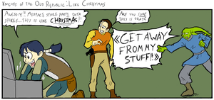 KotOR: Like Christmas by surfersquid