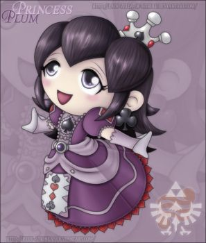 Character Care: Princess Plum by Lady-Zelda-of-Hyrule